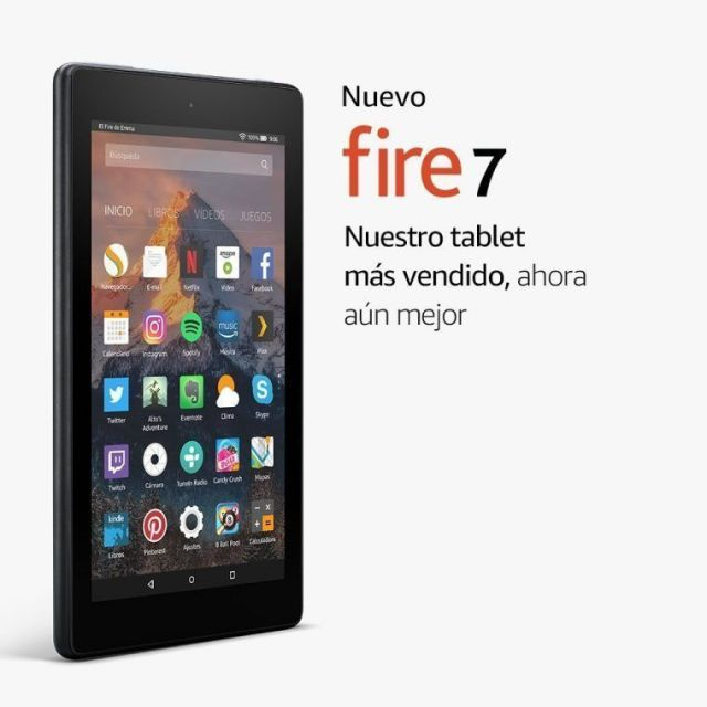 Comprar tablet 7 Fire