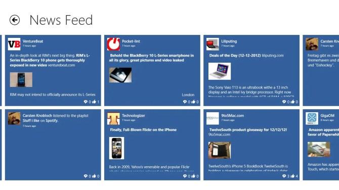 My Social Facebook App für Windows 8