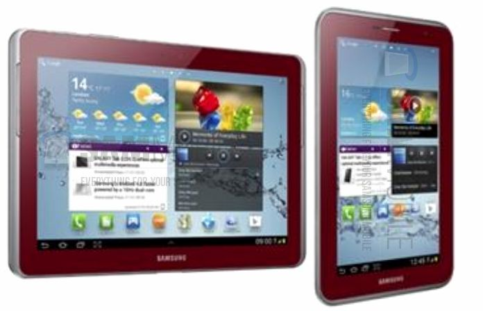 Samsung Galaxy Note 10.1 Rot