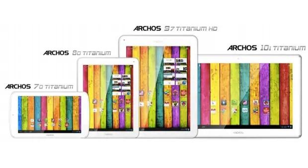 Archos Titanium Reihe