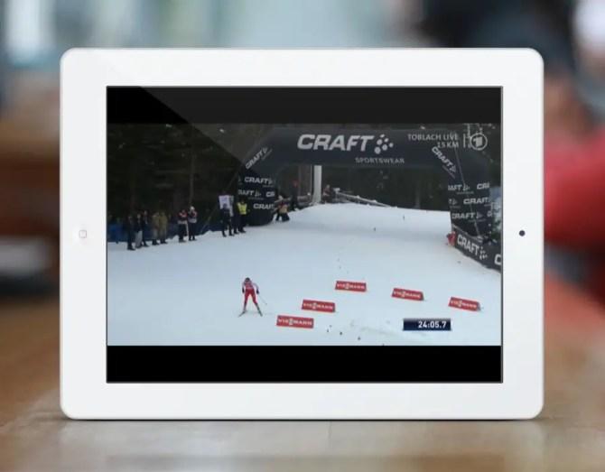 Das Erste Livestream Tablet