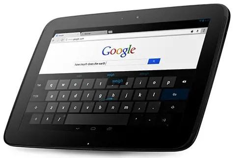 Google Tablet Einnahmen