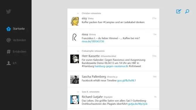 Twitter Windows