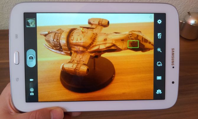 Samsung Galaxy Note 8.0 Kamera