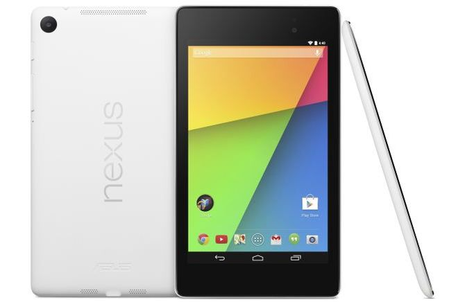 Weißes Google Nexus 7 2013
