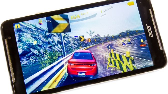 Acer Iconia Talk S Gaming Test