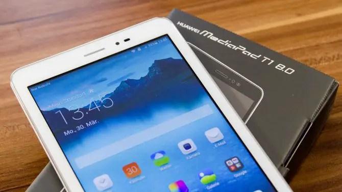 Huawei MediaPad T1 Unboxing