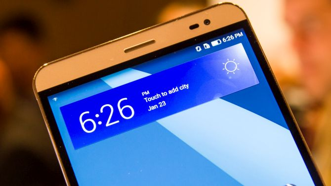 Huawei MediaPad X2 im Hands On