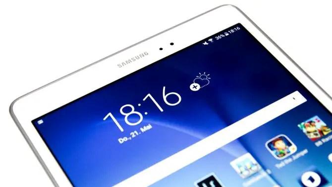 Samsung Galaxy Tab A Display