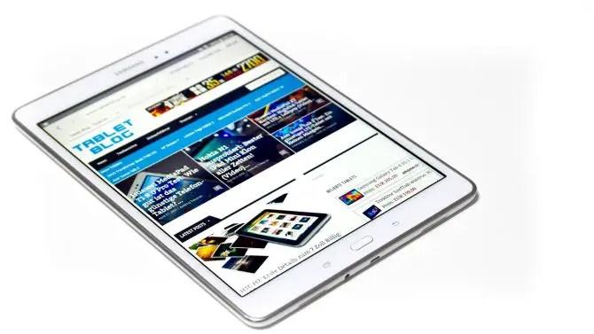 Samsung Galaxy Tab A mit TabletBlog
