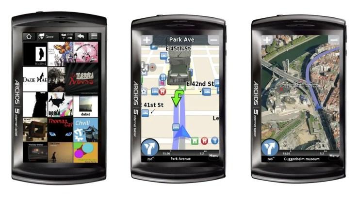 Archos 5 Internet Tablet Apps