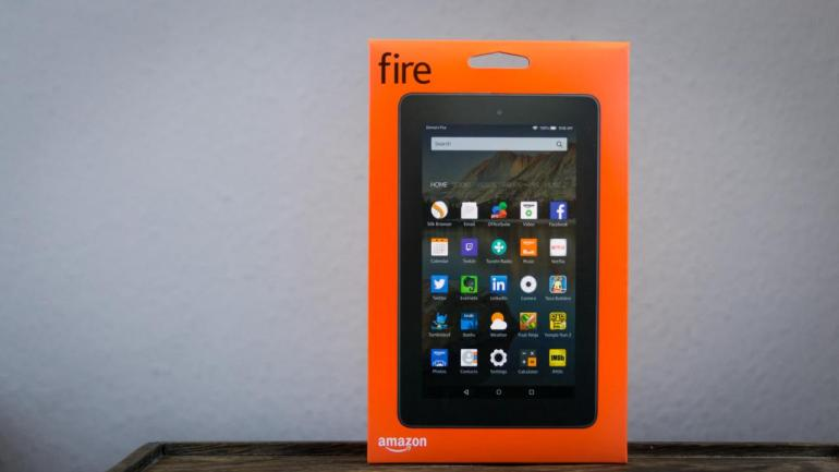 Amazon Fire Verpackung