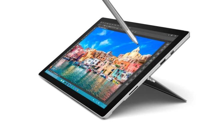 Surface Pro 4 mit Stylus