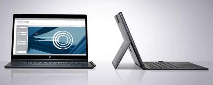 Dell Latitude 12 7275 mit Tastatur Cover