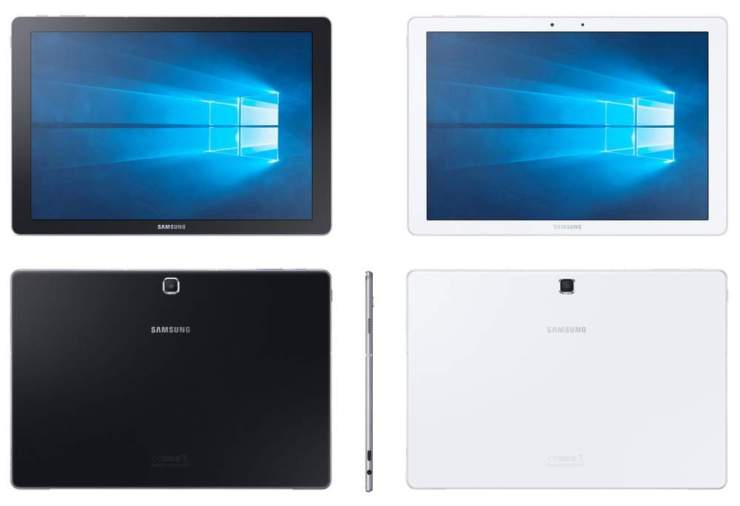 Samsung Galaxy Tab PRO S mit Windows