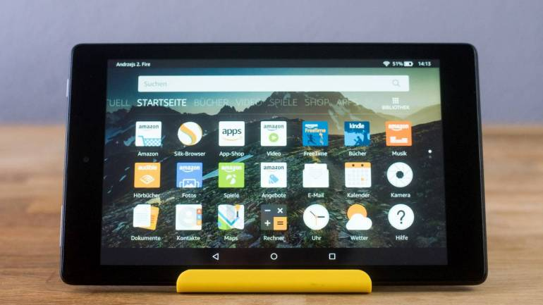Amazon Fire HD 8 ausprobiert