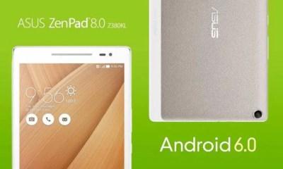 ASUS ZenPad Marshmallow Update