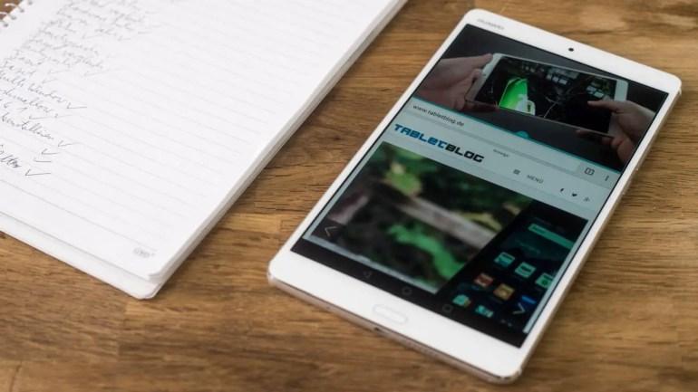 Huawei MediaPad M3 Multitasking