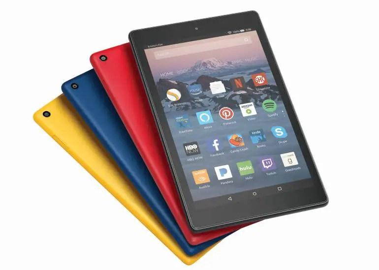 Amazon Fire HD 8 neue Farben