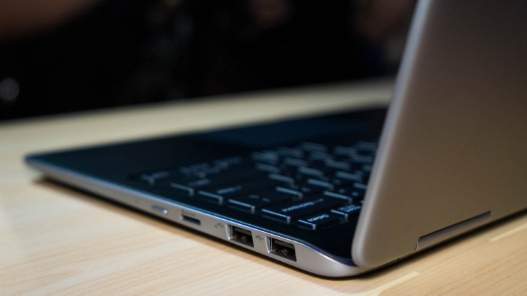 Samsung Notebook 9 Pro Anschlüsse
