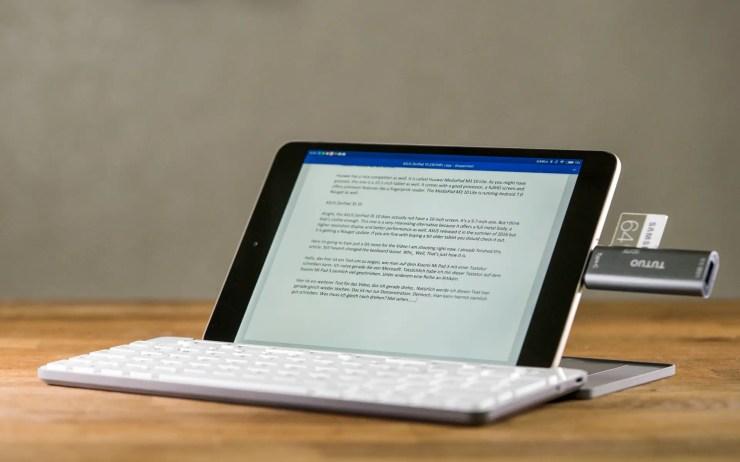 Xiaomi Mi Pad 3 mit Bluetooth Tastatur