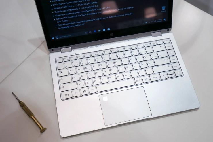 TrekStor Primebook C13 Tastatur