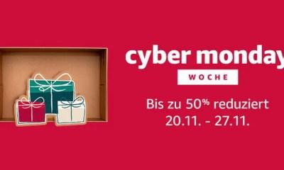 Cyber Monday Woche 2017