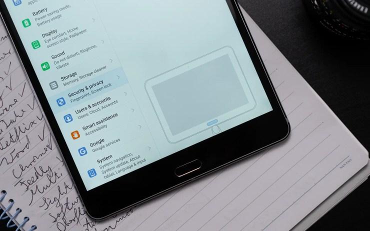 Huawei MediaPad M5 8 Fingerabdruckleser