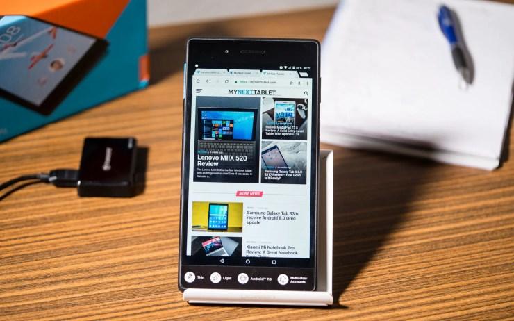 Lenovo Tab7 Essential Chrome Browser