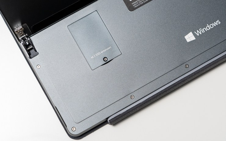 TrekStor Primetab T13B SSD Slot