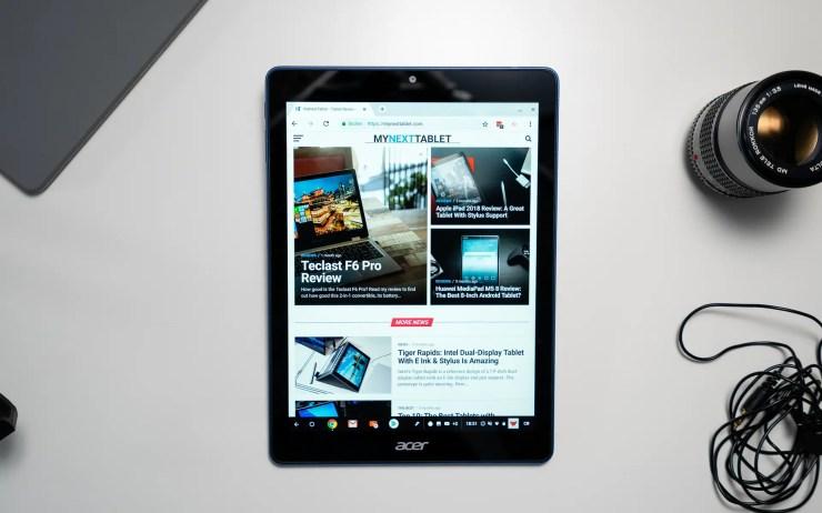 Acer Chromebook Tab 10 Test