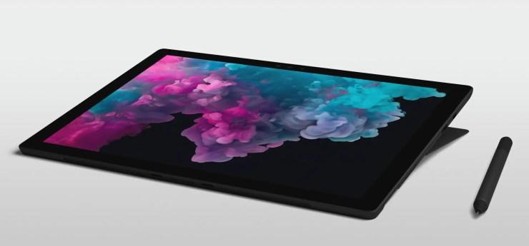 Microsoft Surface Pro 6 als Grafiktablet