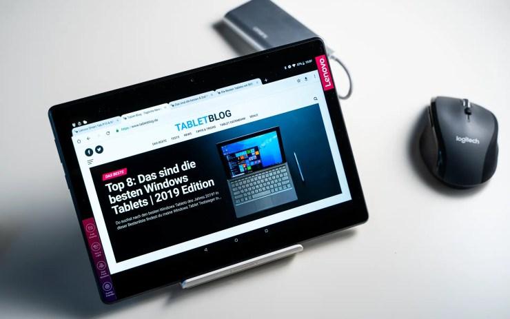 Lenovo Tab M10 mit Chrome