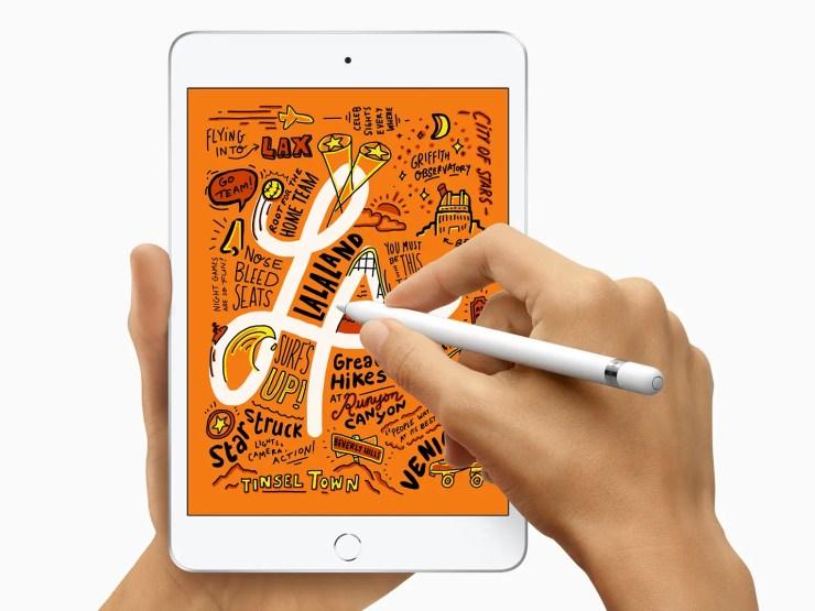iPad Mini mit Apple Pencil