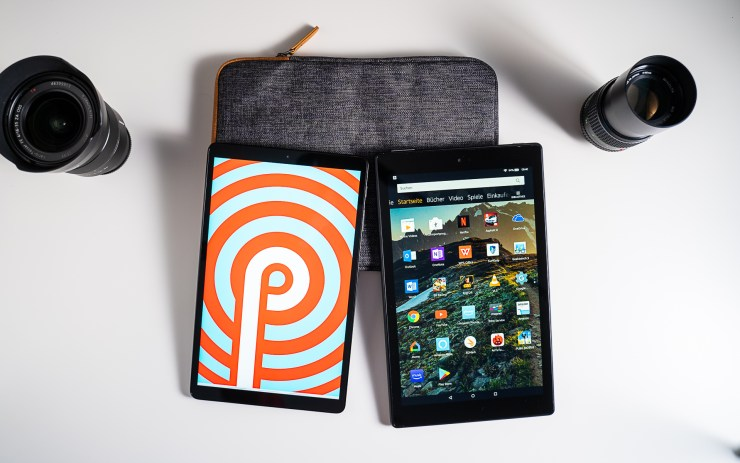 Samsung Galaxy Tab A 10.1 vs Amazon Fire HD 10 Software