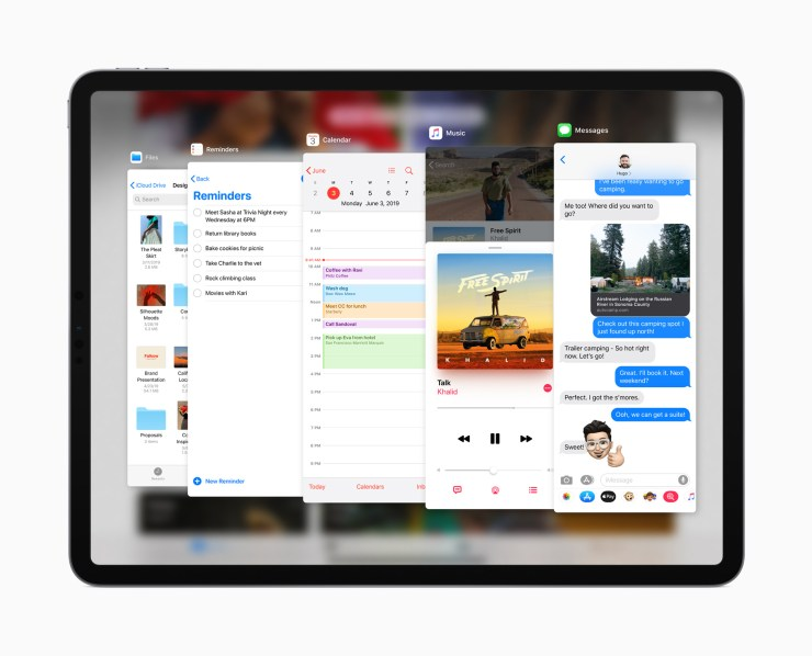 iPadOS Slide Ove