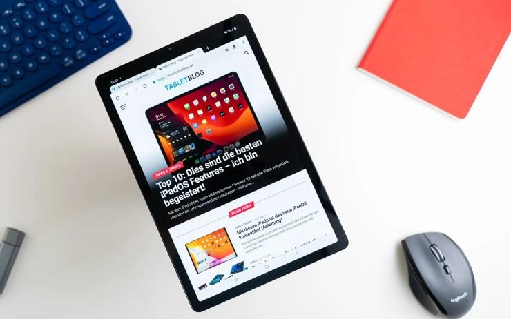 Samsung Galaxy Tab S5e mit Chrome