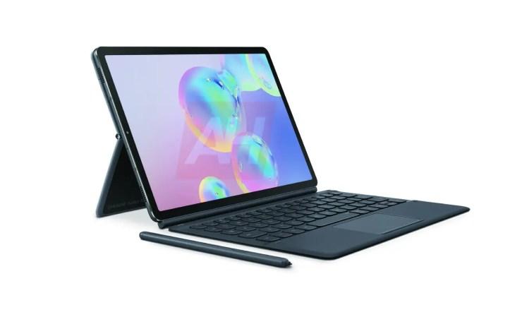 Samsung Galaxy Tab S6 Leak Mit Tastatur