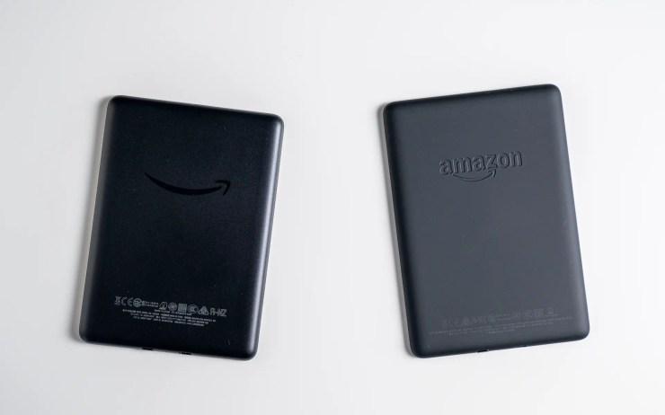 Amazon Kindle vs. Paperwhite Design