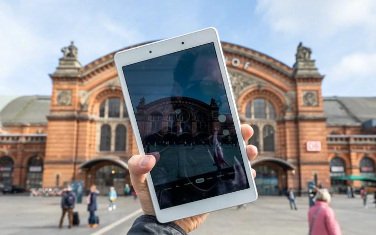 Samsung Galaxy Tab A 8.0 SM-T290 draußen