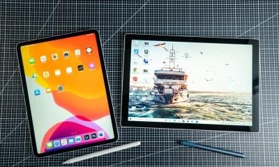 iPad Pro vs. Surface Pro Vergleich