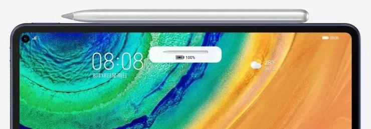Huawei MatePad Pro mit Stift