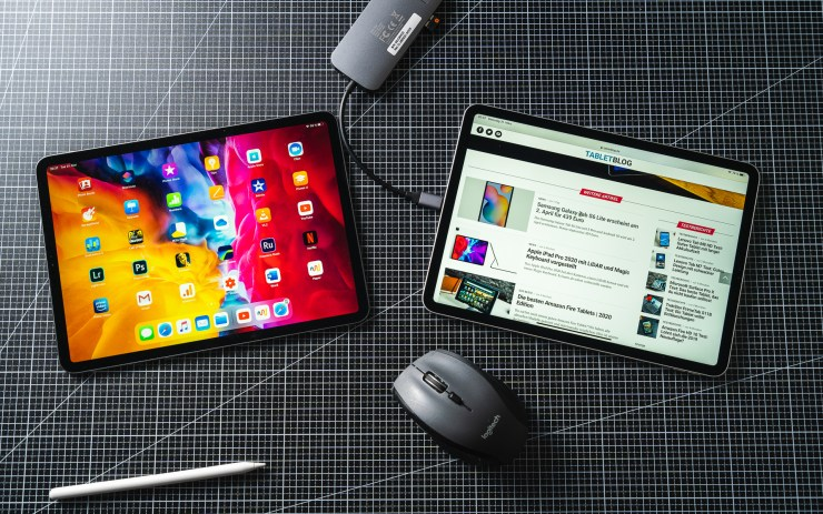iPad Pro 2020 vs 2018 mit Maus