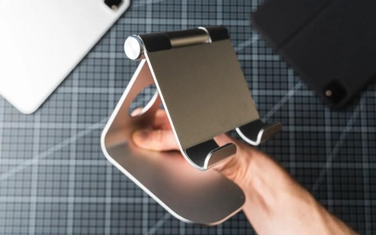 iPad Pro mit Lamicall Tablet Ständer