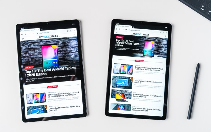 Samsung Galaxy Tab S6 Lite VS Galaxy Tab S5e mit Chrome