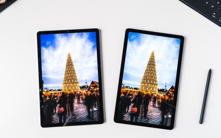 Samsung Galaxy Tab S6 Lite VS Galaxy Tab S5e Display
