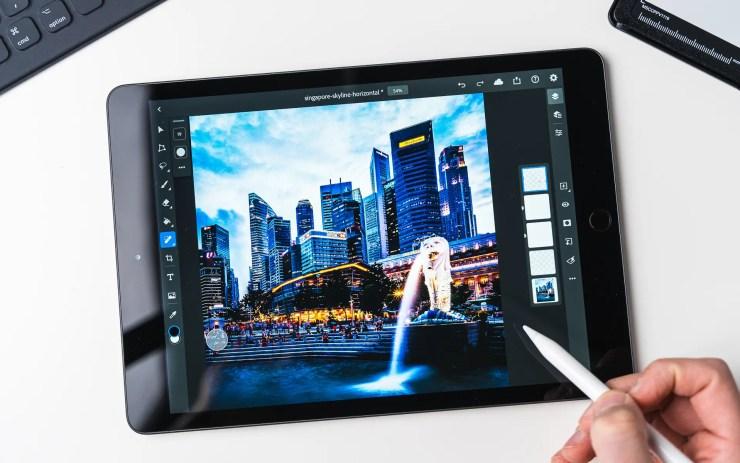 Apple iPad 8 mit Photoshop