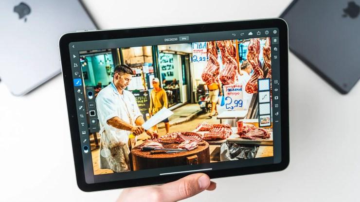Apple iPad Air 4 mit Photoshop