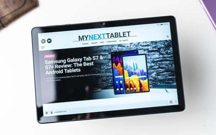 Huawei MatePad T10s mit Firefox