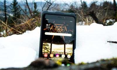 Samsung Galaxy Tab Active 3 draußen